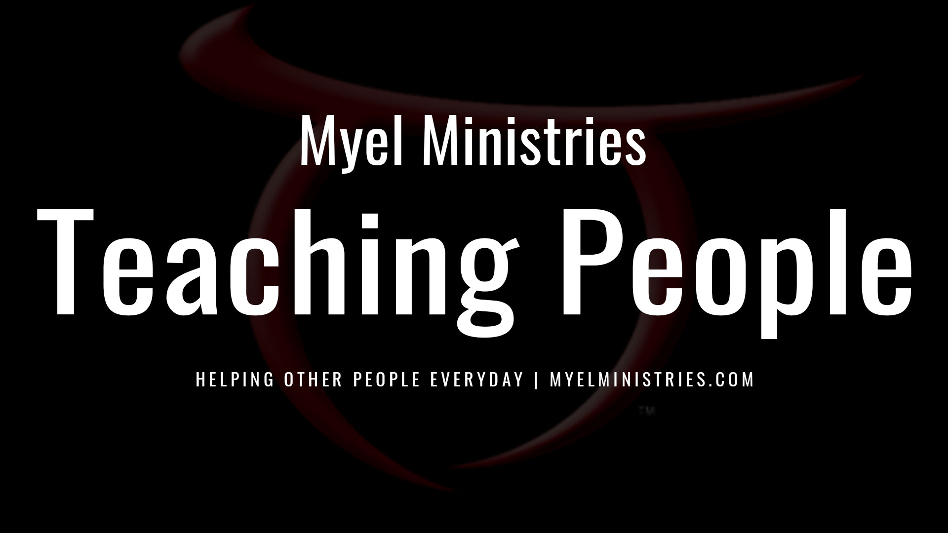 Teaching People in Christ
